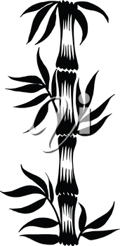 vector, artistic, decorative silhouette in grunge style