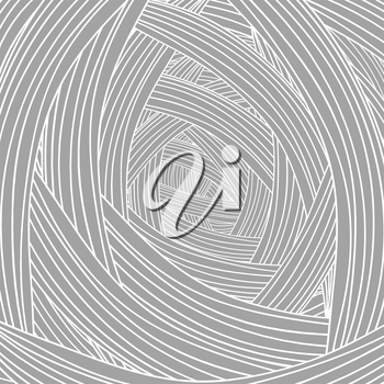 Abstract Grey Wave Background. Abstract Wave Pattern.