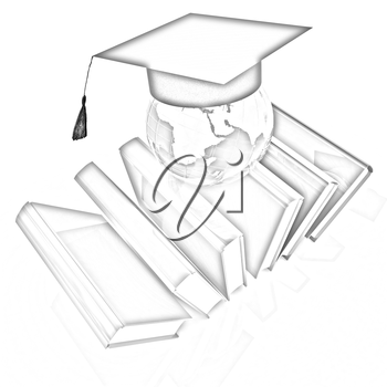 Global Education on a white background