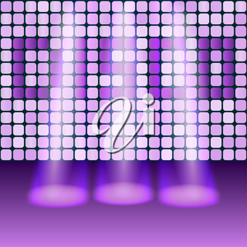 disco party background - vector illustration. eps 10