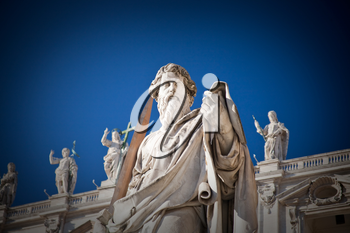 Statue of Apostle  in Vatican, Italy
