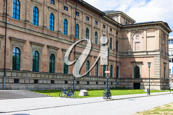 Travel to Germany - building of Alte (Old) Pinakothek in Munich city