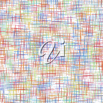Multicolored checkered pattern on white as abstract background.Digitally generated image.