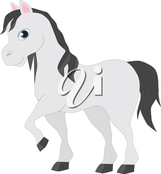 Royalty Free Clipart Image of a horse