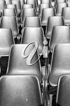 empty seat in italy europe background black  texture