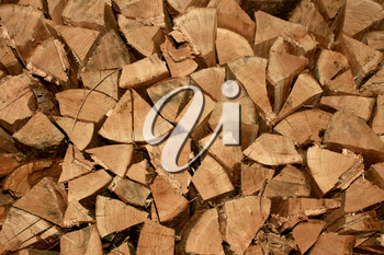 Firewood. The traditionaal method of heating in the mountains and remote villages