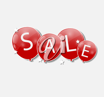 Sale Concept of Discount. Vector Illustration. EPS10