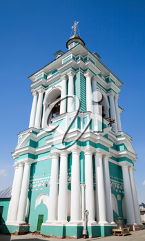 Uspenskii cathedral bell-tower in Smolensk, Russia