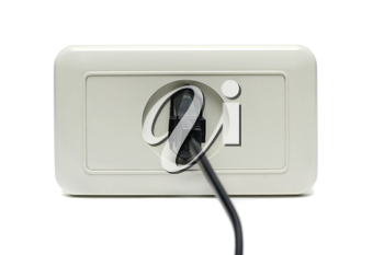 Plug in the socket isolated