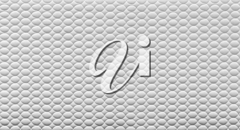 Abstract white texture with ovals