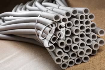 Lots of thermo pipes for tubes