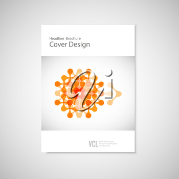 Abstract figure. Vector concept.