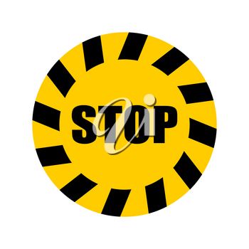 Sticker distance with virus. Keep your distance in line. Stickers for shops and public places. Coronavirus isolation mode. Quarantine from the virus. Pandemic.