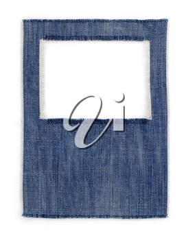 jeans blue texture on white background