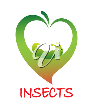 Icon means struggle against insects vector