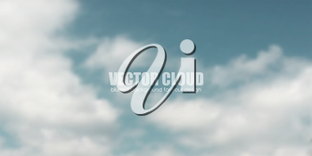 Blue sky with clouds. Vector background. For website design