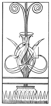 Royalty Free Clipart Image of a Vase