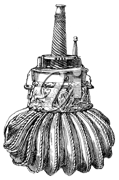 Royalty Free Clipart Image of a Medieval Trinket
