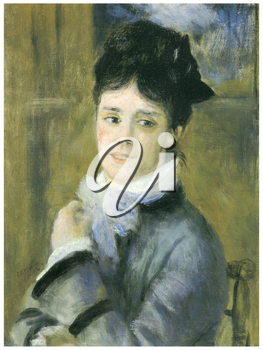 Royalty Free Clipart Image of a Monet