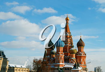 Saint Basil's Cathedral architecture background hd