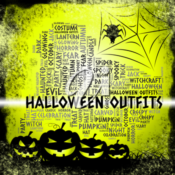 Halloween Outfits Showing Trick Or Treat Clothes Horror