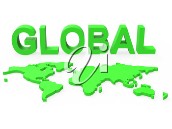Global Network Meaning Networking Globalisation And Internet