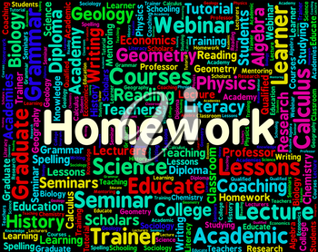 Homework Word Meaning Assignments Educate And Words