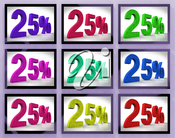 25% On Monitors Shows Special Offers And Reductions