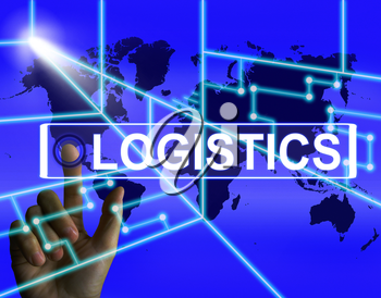 Logistics Screen Indicating Logistical Strategies and International Plans