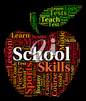 School Word Meaning Class Words And College