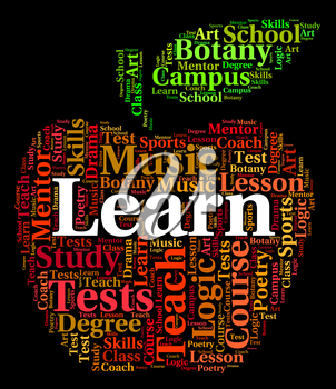 Learn Word Representing Studying Educating And Words