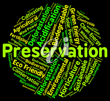 Preservation Word Meaning Earth Friendly And Environment
