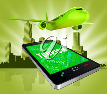 Tourism Online Representing Web Site And Travelling