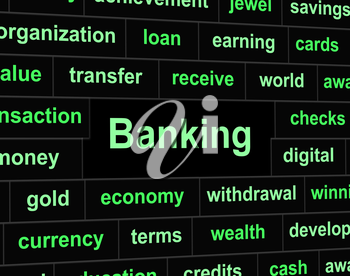 Banking Finances Meaning Figures Commerce And Financial