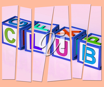 Club Letters Meaning Membership Registration And Subscription