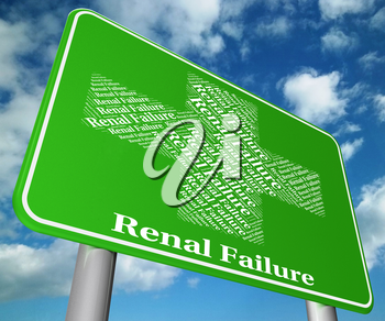 Renal Failure Showing Lack Of Success And Acute Kidney Injury
