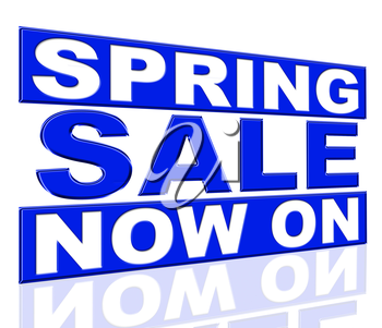 Spring Sale Representing At The Moment And Promo