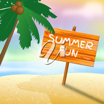 Summer Fun Meaning Go On Leave And Time Off