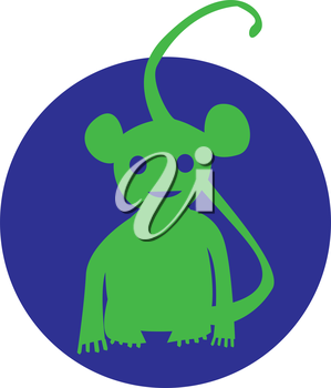 Monkey Icon design concept. AI 10 supported.