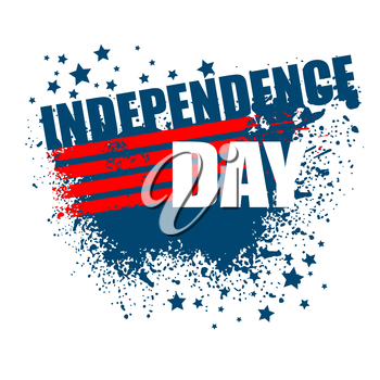 Independence Day Background. Abstract grunge vector. EPS 10