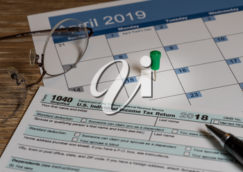 New Form 1040 Simplified for 2018 allows for filing on April 15, tax day, on a postcard