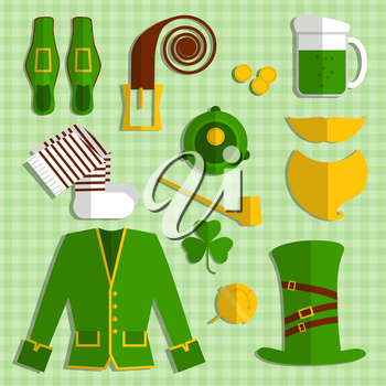 St. Patrick's Day vector design elements set
