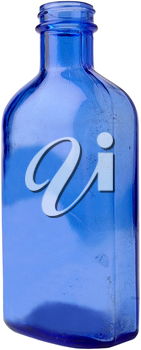 Royalty Free Photo of a Decorative Glass Bottle