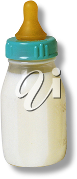 Royalty Free Photo of a Small Baby Bottle