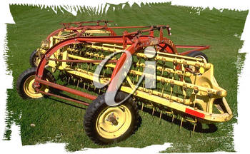 Royalty Free Photo of a Cultivator