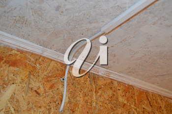 Products for electrical wiring, wires